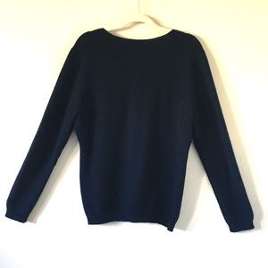 Charter Club Sweaters - Charter Club | Navy Luxury Cashmere Sweater